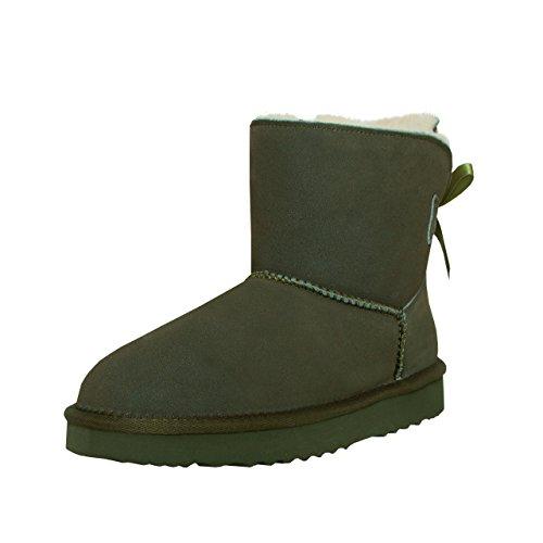 SKUTARI  Boot, Bottes à enfiler femme Green(Grün)