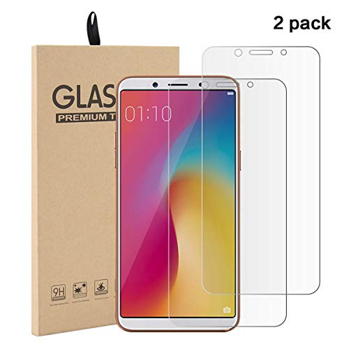 fitmore Oppo F5 Screen Protector, Tempered Glass Film, Ultra-Clear HD Protect Glass with Premium Anti-Scratch Anti-Smudge Fingerprint Resistant & Shatterproof Case Friendly Glass Screen Protector Anti-smudge Screen Protector