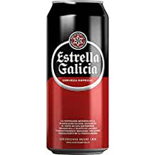 CERVEZA ESTRELLA DE GALICIA ESPECIAL LAGER PACK 24 LATAS 33CL
