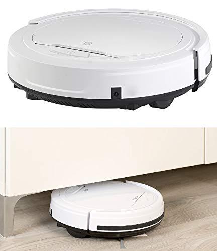 Sichler Haushaltsgeräte Saug und Wischroboter: Staubsauger-Roboter mit Bürst- und Wisch-Funktion, 200 ml, Filter (Robotersauger)