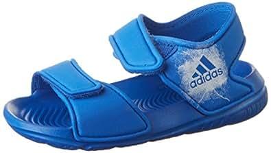 adidas Baby Jungen Altaswim Badeschuhe, Blau (Blue/Ftwr White/Ftwr White), 23 EU