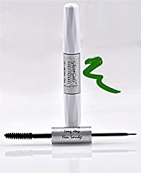 GlamGals 2 in 1-Black Mascara + Green Liner,10 ml