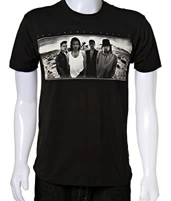 U2 - Mens Joshua Tree T-Shirt In Black, XX-Large, Black