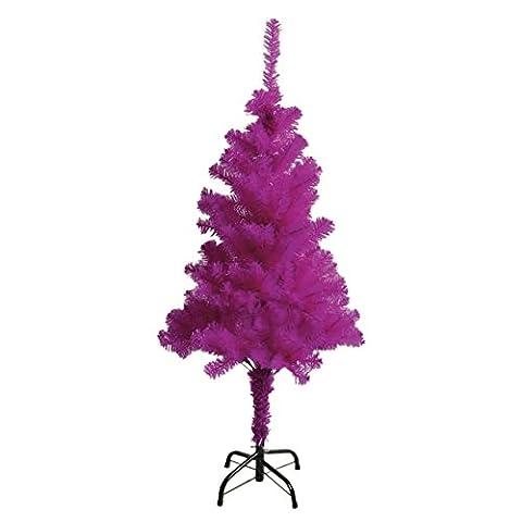 Weihnachtsbaum Lila Pink 1,50m Christbaum Tannenbaum künstlich
