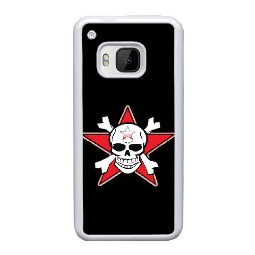 Personalized custom HTC One M9 Design your own cell Phone Case skull logo