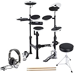 Roland TD-4KP V-Drums Portable Drum Kit TD4KP Plus Accessory Pack