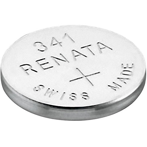 341 (SR714SW) Batteria Pulsante / Ossido D'argento 1.55V / per