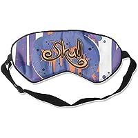 Sleep Eye Mask Art Colorful Skull Lightweight Soft Blindfold Adjustable Head Strap Eyeshade Travel Eyepatch E3 preisvergleich bei billige-tabletten.eu
