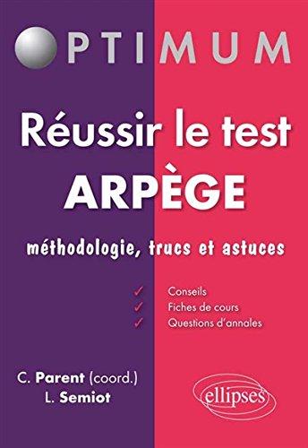 Réussir le Test ARPEGE Méthodologie Tr...