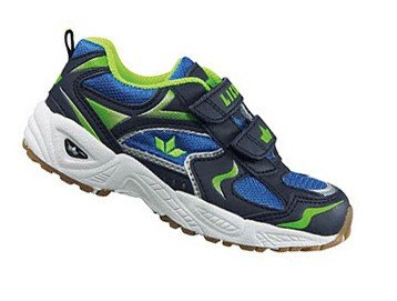 Lico  Bob V, Chaussures indoor enfant mixte Blau (marine/blau/lemon)