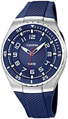 Calypso Calypso watches K6063/2 - Reloj para niños, correa de plástico color azul