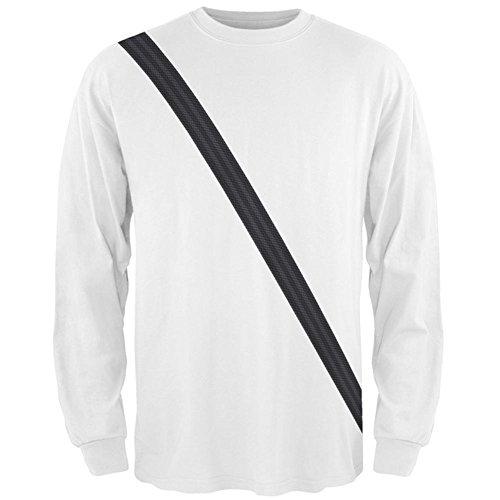 Sicherheitsgurt Beifahrer Seite Kostüm aller Mens Long Sleeve T-Shirt Multicoloured