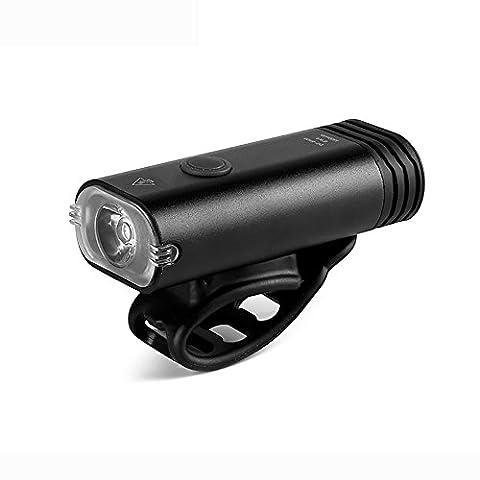 MIAO Fahrrad-Scheinwerfer/Frontlichter, Nachtfahrt USB-Aufladung Starke Licht-Taschenlampe Mountainbike-Lichter Zubehör Reitausrüstung