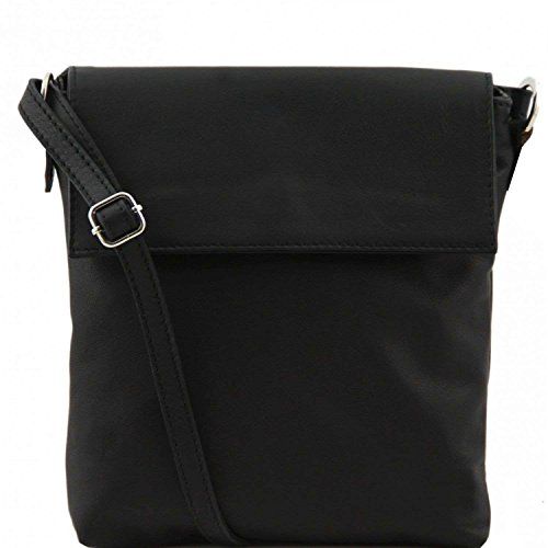 Tuscany Leather - Morgan - Sac bandoulière en cuir - Noir