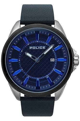 orologio multifunzione uomo Police Checkmate sportivo cod. R1451297001