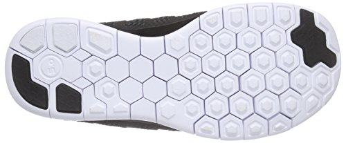 Nike Free 5.0 (Gs) Sneakers, Bambini E Ragazzi Black/White-Anthracite