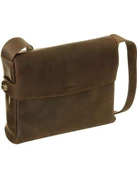 HAROLD'S dothebag raboisonbag messenger bag medium 15' Leder toro schwarz