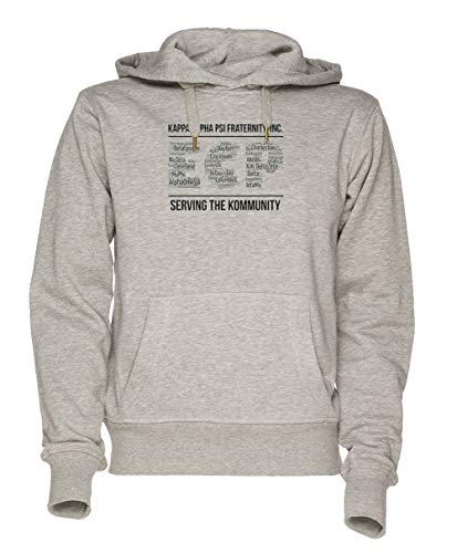 Jergley Ecp Unisex Grau Sweatshirt Kapuzenpullover Herren Damen Größe S | Hoodie for Men and Women Size S - Alpha Kappa Alpha Sweatshirt