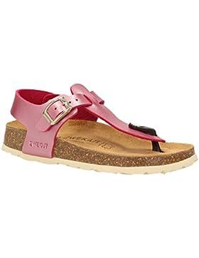 ZWEIGUT® -Hamburg- luftig #503 Mädchen Sandale Zehentrenner Schuhe Leder-Komfort-Sohle