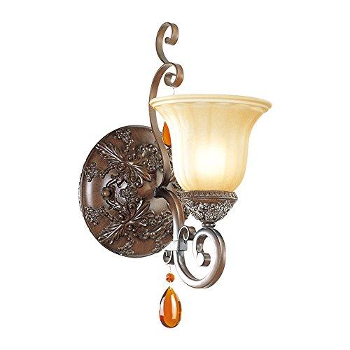 LIYAN minimalistische Wandleuchte Wandleuchte E26/E27 Die idyllische Landschaft mit antiken Wandleuchten Spiegel vordere Lampe Nachttischlampe off road light Crystal