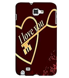 Samsung Galaxy NOTE 1 MULTICOLOR PRINTED BACK COVER FROM GADGET LOOKS
