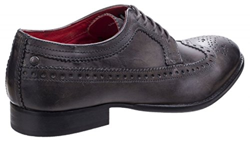 Base London Bailey Brunito Mens STRINGATE Brogues Burnished Grey