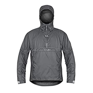 Paramo Directional Clothing Systems Men's Velez Adventure Light Smock Waterproof Jacket, Rock Grey, Small
