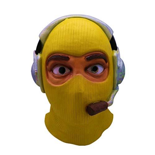 Cosplay Raptor Maske schmelzende Gesicht Overhead Latex Kostüm Prop Scary Cute Maske Spielzeug