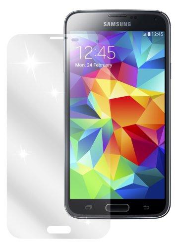 dipos Samsung Galaxy S5 / S5 Neo Schutzfolie (4 Stück) - kristallklare Premium Folie Crystalclear (Samsung Galaxy S5, Tab S)
