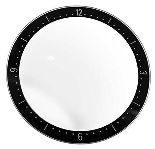 Junghans Mega Solar Keramik | Uhrenglas flach rund für 018/1504 018/1112