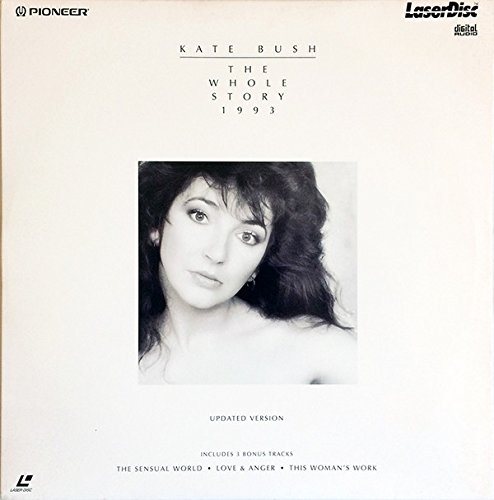 Kate Bush - the whole story 1993 (updated version incl. 3 bonus tracks) Laser Disc (factory sealed / OVP) -