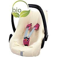 ByBoom® - Sommerbezug, Schonbezug für Babyschale aus 100% BIO-Baumwolle, Universal für z.B. Maxi-Cosi, CabrioFix, Pebble, City SPS
