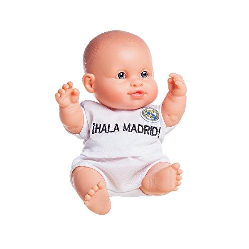 Muñeca PAOLA REINA Real Madrid Peque, Vinilo 21 cm. (René)