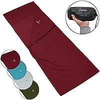 Polialcotón forro de la bolsa de dormir POCKET PETER Saco Sábana Interior para Saco de Dormir