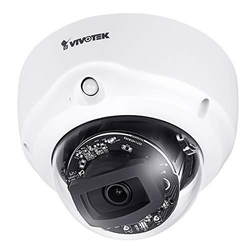 Vivotek FD8177-HT Fixed Dome IP Kamera | 4MP | Indoor | IR 30M | PoE | 2 | 8-12mm | PIR | P-Iris Objektiv 12 Mm Fixed Iris