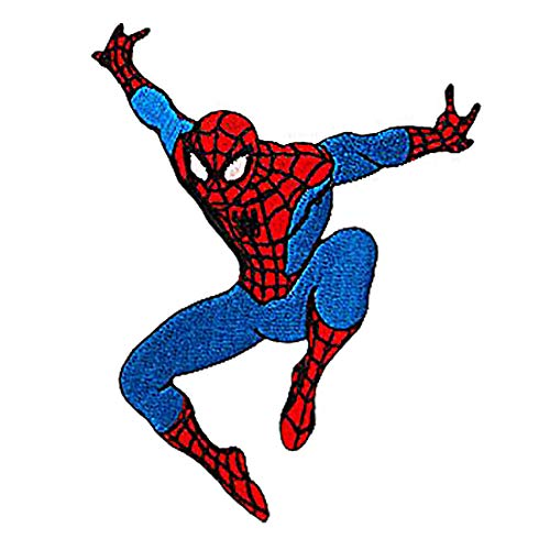 Parches - Spider-Man saltar Marvel - azul - 7