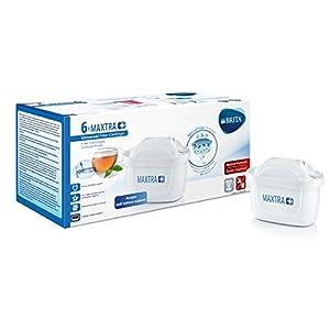 BRITA Filtri MAXTRA+ Pack 6, Cartucce per Caraffe Filtranti, 6 Filtri x 6 Mesi di Acqua Filtrata 1 spesavip