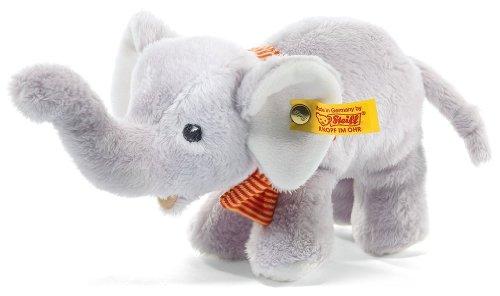 Steiff 240027 - Trampili Baby Elefant stehend, 17 cm, grau