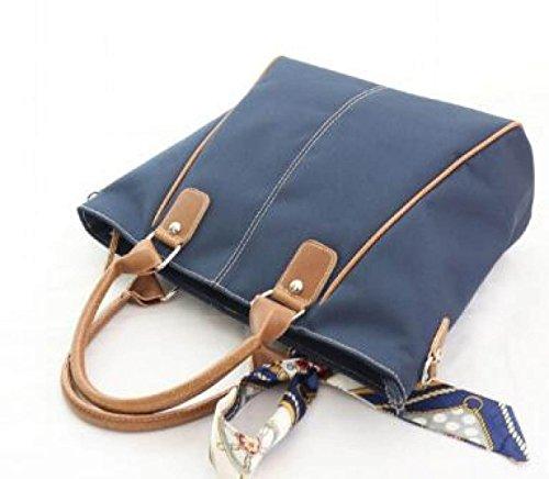 FZHLY Oxford Tuch Handtasche Temperament Casual Lady Handtasche DarkBlue