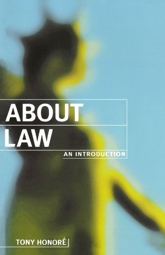About Law: An Introduction (Clarendon Law Series) by Tony Honoré (1996-05-02)