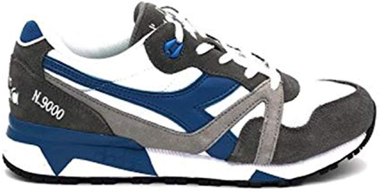 Diadora scarpe da ginnastica N 9000 9000 9000 III Bianco Grigio Azzurro 171853-C7942 (45 - Bianco)   Elevata Sicurezza  d98f7a