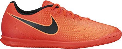 Nike Magistax Ola Ii Ic, Chaussures de Futsal Homme Rouge (Total Crimson/black/bright Mango)