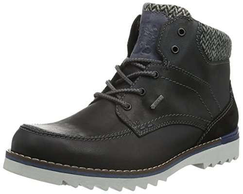 FRETZ men - Zapatos de cuero para hombre, color Negro talla 43 1/3 EU (9 UK)