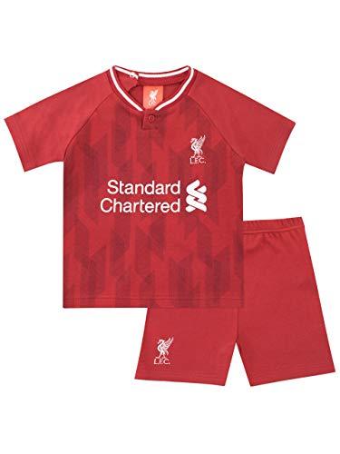 Liverpool F.C. Baby Jungen Football Club Shorts und Shirt Set Rot 80