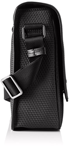 HUGO Future_mess Flap 10197708 01, Sacs portés épaule Noir (Black)