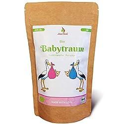 JoviTea® Babytraum Tee BIO - Traditionelle Rezeptur - spezielle Kräutermischung - aus kontrolliert biologischem Anbau. 100% natürlich und ohne Zusatz von Zucker - 75g