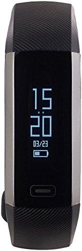 newgen medicals Fitnessarmband Blutdruck: Fitness-Armband, Blutdruck- & Herzfrequenz-Anzeige, Bluetooth, IP67 (Fitnessuhr Blutdruck)
