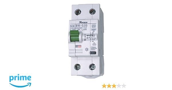 Kopp 741615017 Green Electric Fehlerstromschutzschalter FI/LS ...