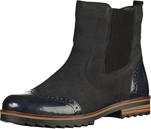 Remonte Damen R2281 Chelsea Boots Blau (Pazifik/Navy)