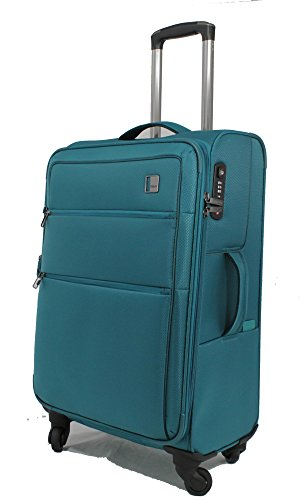 TITAN CLOUD 4w trolley M, expandable, 378405-22 Koffer, 67 cm, 77 L, Aqua